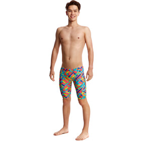 Funky Trunks Training - Bañadores Niños - Multicolor